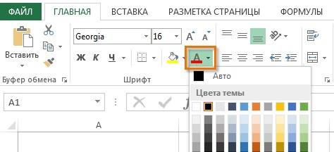 Форматирование ячеек в Excel.