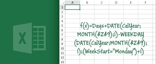 Простые формулы в Excel.