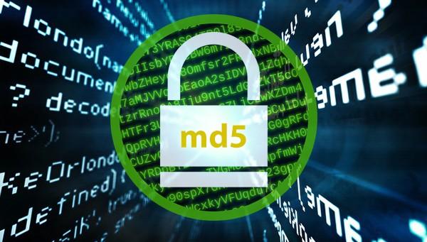 Функция md5 в PHP.