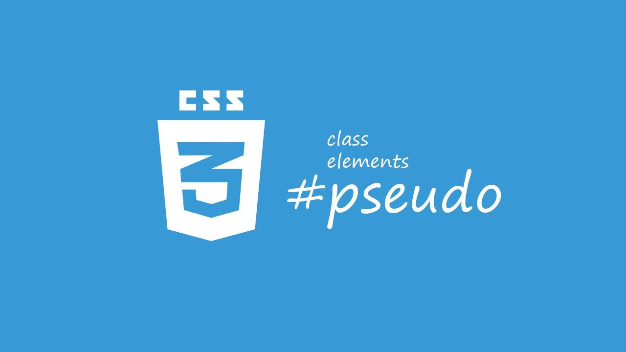 Псевдоклассы в CSS.