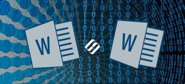Функция сравнения документов в Microsoft Word.