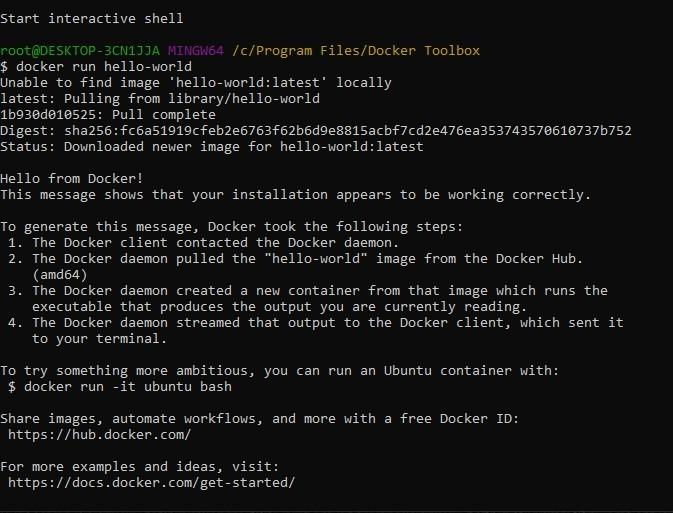 Установка Docker