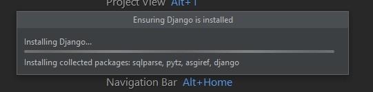 Создание Django-проекта в PyCharm.