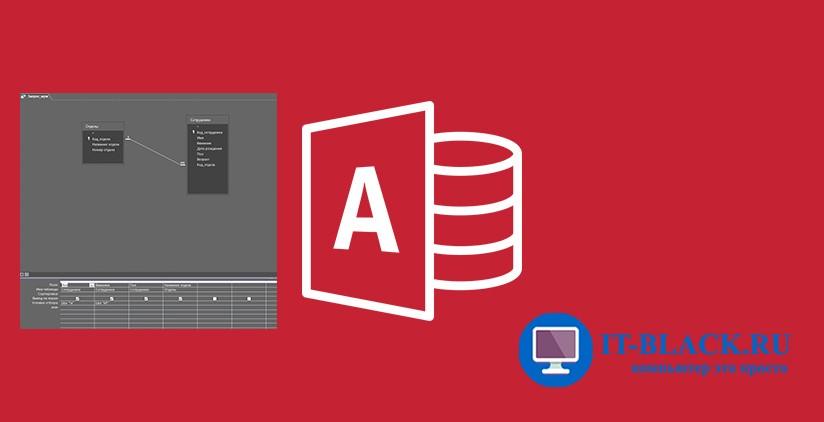Создание запросов на выборку с помощью мастера и конструктора запросов в Microsoft Access.