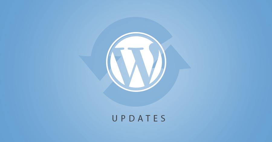 Работа с обновлениями в CMS Wordpress