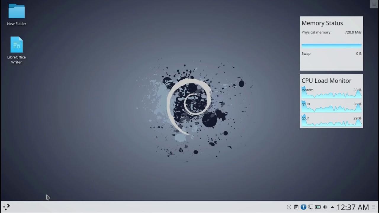 Установка GUI KDE Plasma на операционную систему Debian 10