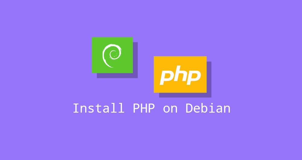 Установка php на Debian 10 + настройка web-сервера Apache