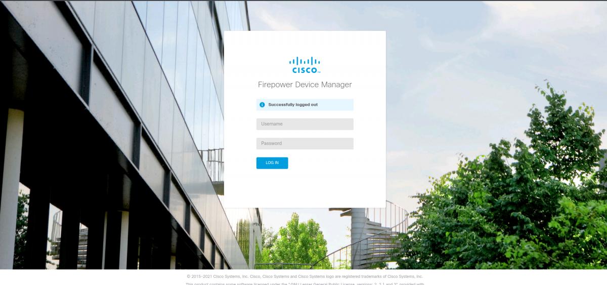Установка Cisco FirePOWER на VMware ESXi