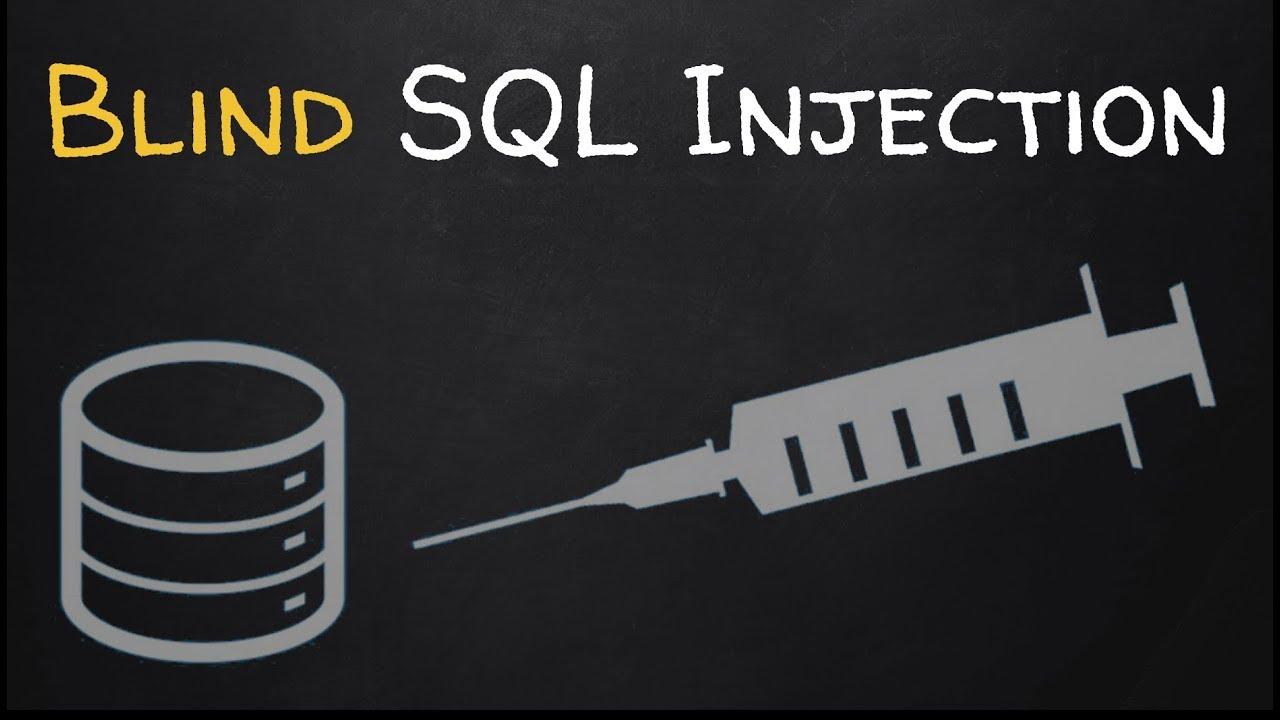 Эксплуатация уязвимостей с помощью слепой инъекции - Blind SQL Injection