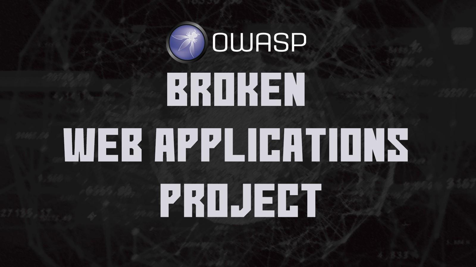 Установка OWASP Broken Web Applications Project